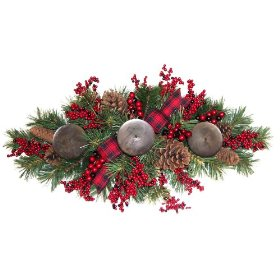 Traditional Christmas Centerpieces